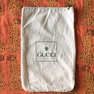 Gucci Dust Bag Authentic Shoe Bag for Travel